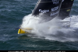 illustration Transat Jacques Vabre - Bureau Vallée 2 : Louis Burton et Davy Beaudart dans les starting-blocks
