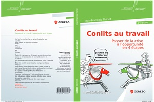 illustration Editions Gereso : du « Conflits au travail » aux « Accidents du travail »